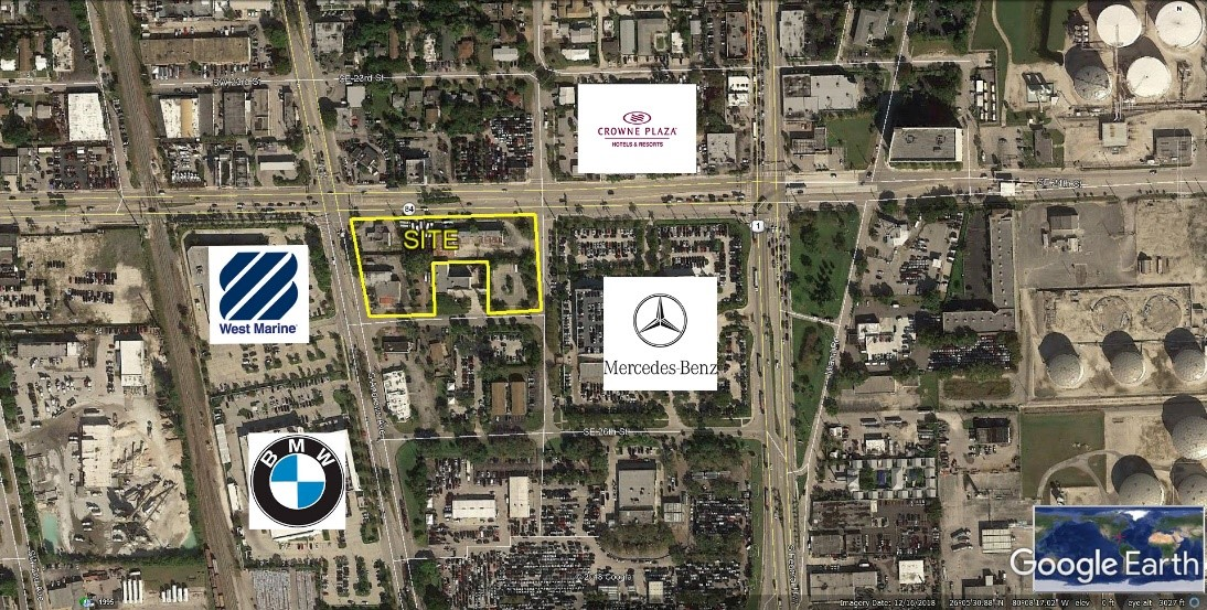 Berger Commercial Realty Facilitates $6.9 Million Sale Of  Two Fort Lauderdale Parcels In Key Transportation Corridor