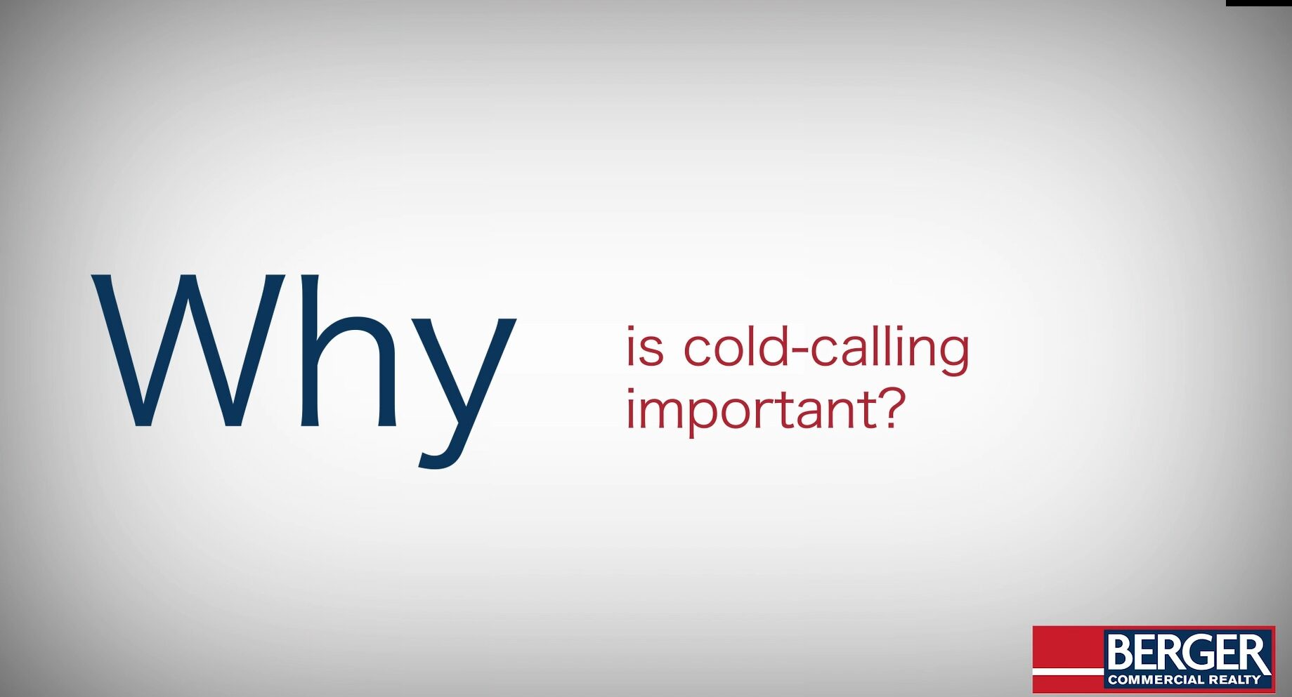Why is Cold Calling Important?