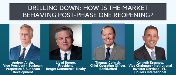 Berger Commercial Realty/CORFAC International President Lloyd Berger Joins All-Star NAIOP Panel On Realities Of COVID-19 Recovery