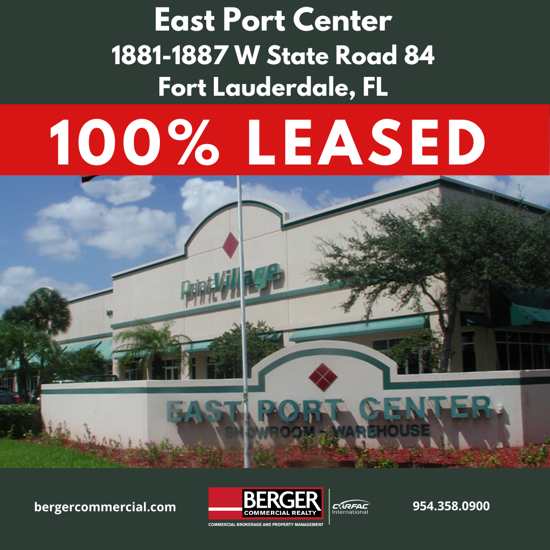 100% leased(7)