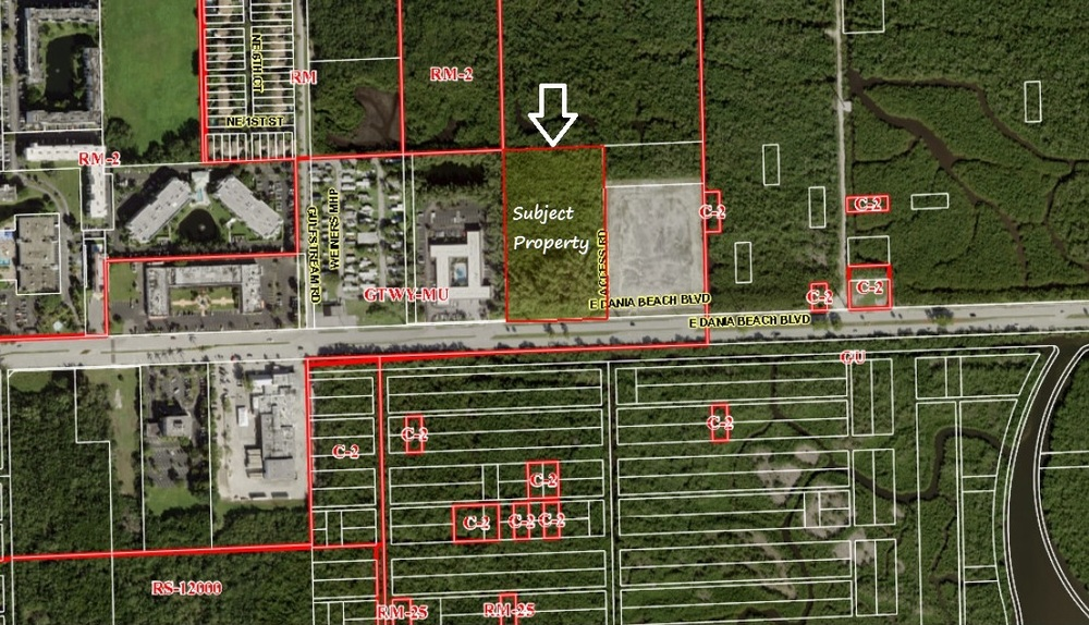 Berger Commercial Realty Brokers Dania Beach Land For New Multi-Family Project
