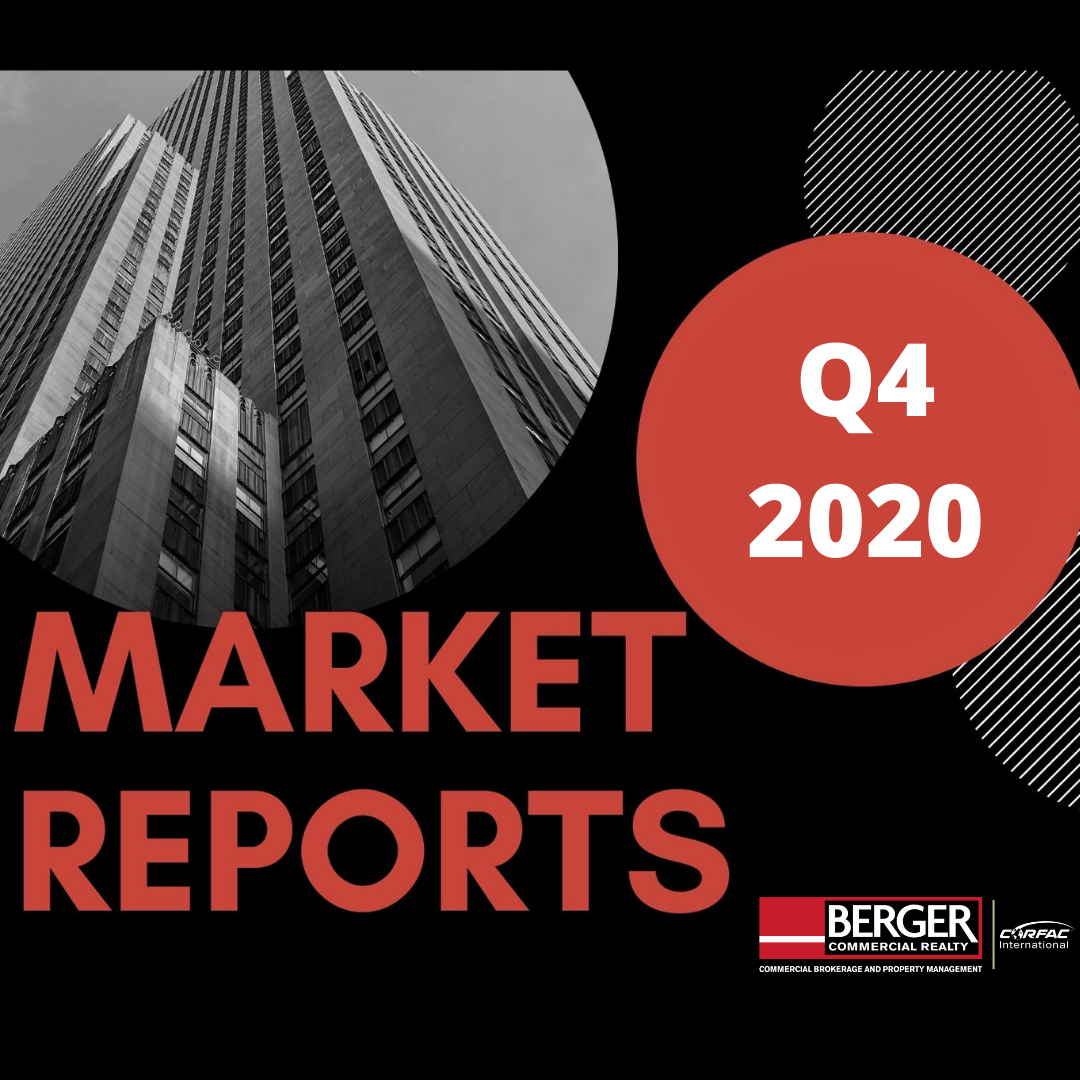 We Are Pleased To Provide You With This Copy Of Berger Commercial Realty Corp.'s  Q4 2020 Broward And Palm Beach County Market Reports