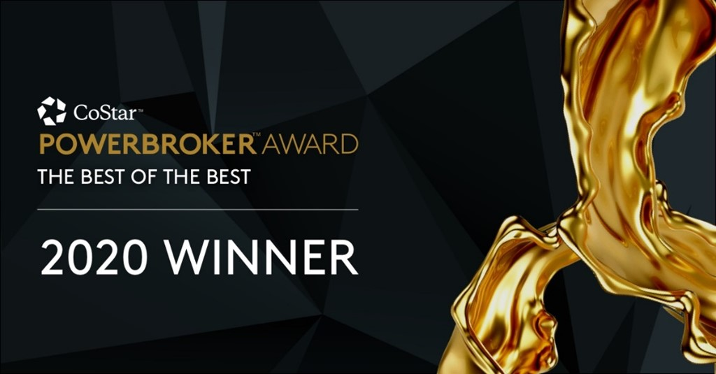 Berger Commercial Realty Named Best Of The Best In The 2020 CoStar Power Broker Awards