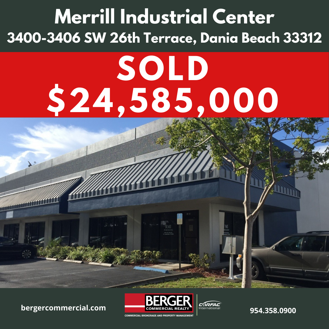 Berger Commercial Realty Negotiates Sale Of 142,000-SF Industrial Park