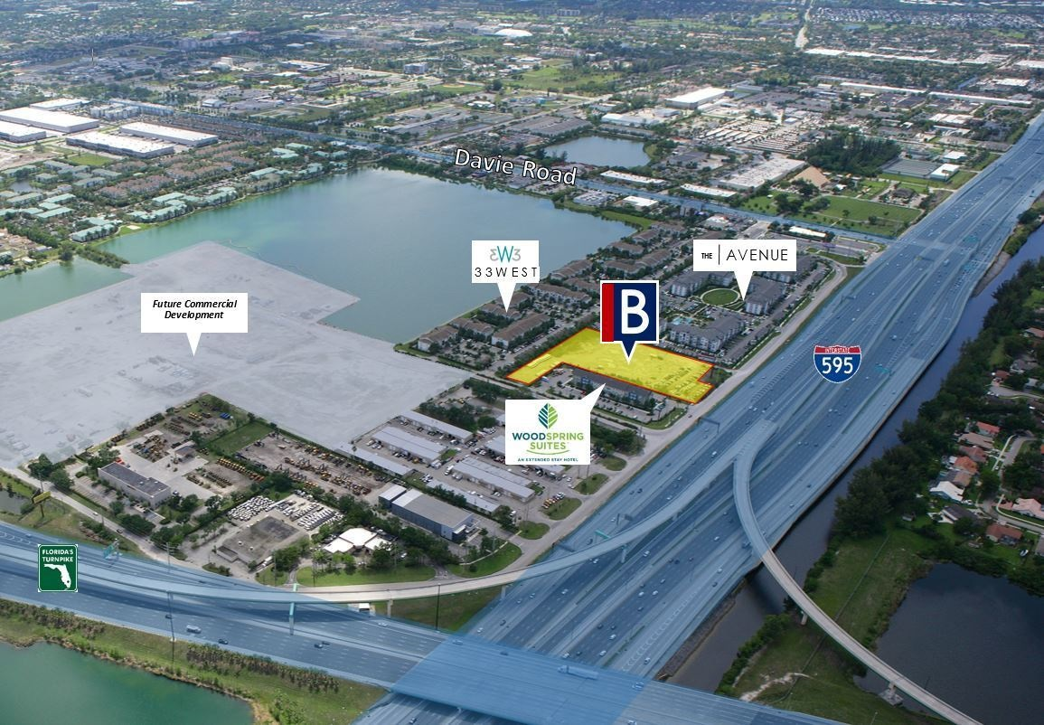 Berger Commercial Realty Brokers Davie Land Sale For New Mid-Rise Residential Project